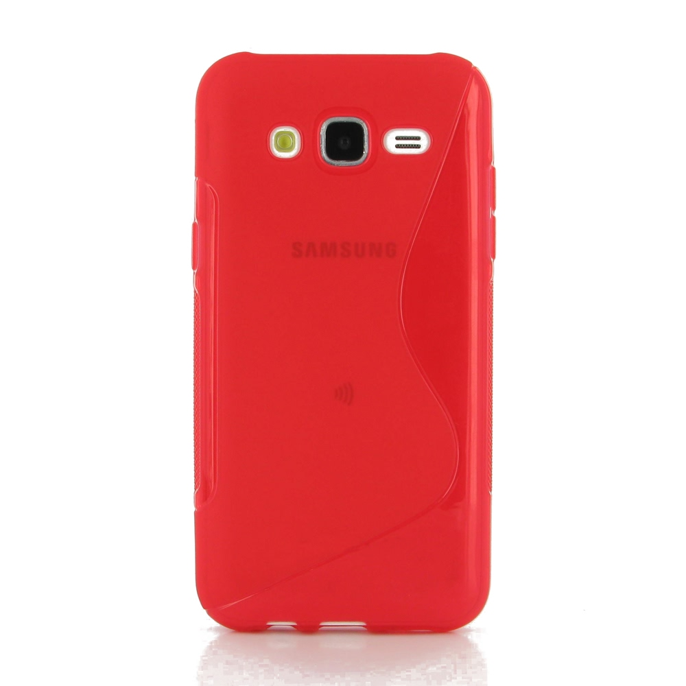 10% OFF + FREE SHIPPING, Buy Best PDair Top Quality Protective Samsung Galaxy J5 Soft Case (Red S Shape pattern) online. You also can go to the customizer to create your own stylish leather case if looking for additional colors, patterns and types.