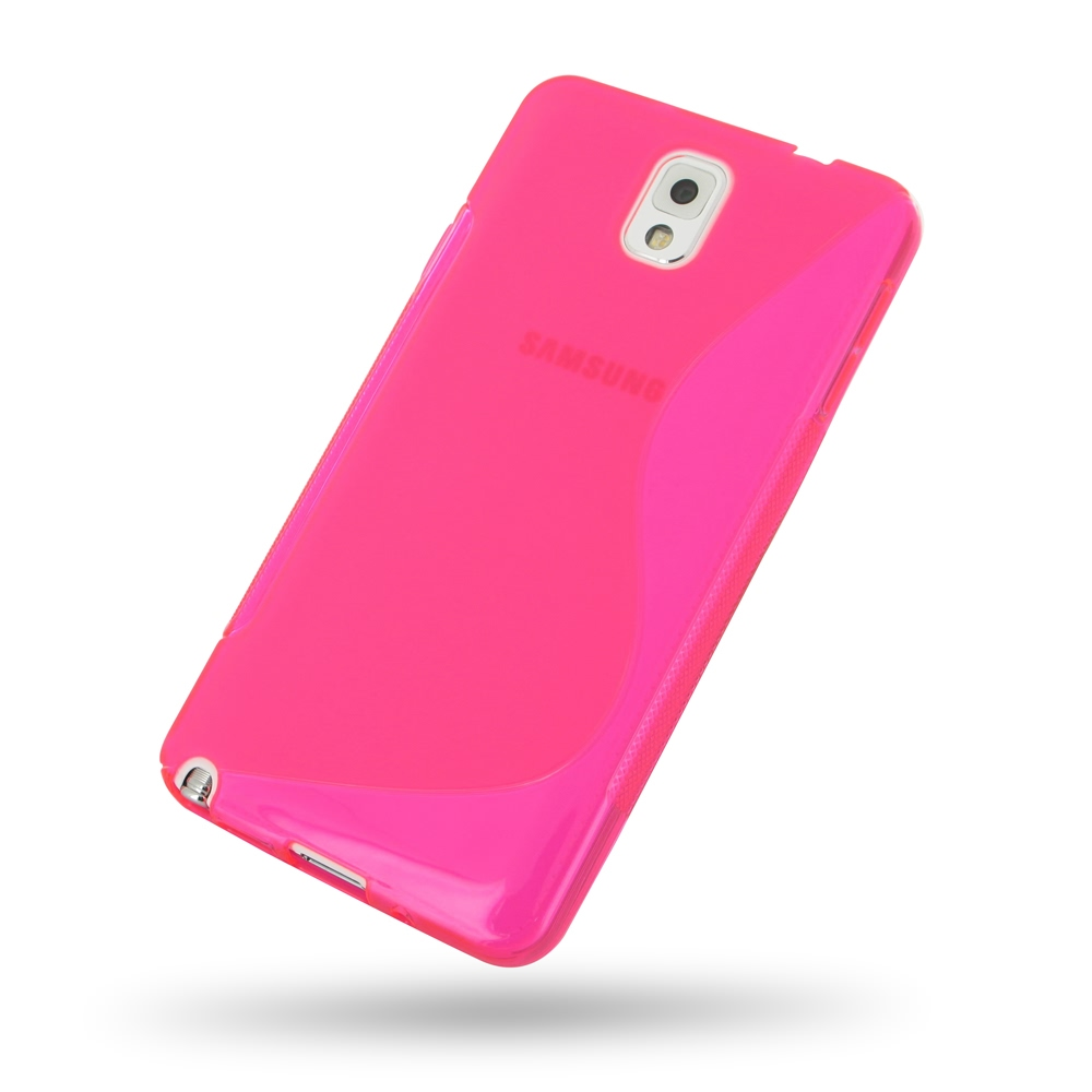 10% OFF + FREE SHIPPING, Buy Best PDair Top Quality Protective Samsung Galaxy Note 3 Soft Case (Pink S Shape pattern) online. You also can go to the customizer to create your own stylish leather case if looking for additional colors, patterns and types.