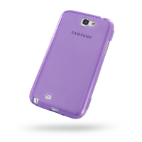 Soft Plastic Case for Samsung Galaxy Note 2 | Samsung Galaxy Note2 | GT-N7100 (Purple)