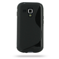 10% OFF + FREE SHIPPING, Buy Best PDair Top Quality Protective Samsung Galaxy S Duos Soft Case (Black S Shape pattern) online. You also can go to the customizer to create your own stylish leather case if looking for additional colors, patterns and types.