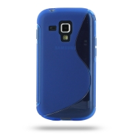10% OFF + FREE SHIPPING, Buy Best PDair Top Quality Protective Samsung Galaxy S Duos Soft Case (Blue S Shape pattern) online. You also can go to the customizer to create your own stylish leather case if looking for additional colors, patterns and types.