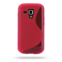 10% OFF + FREE SHIPPING, Buy Best PDair Top Quality Protective Samsung Galaxy S Duos Soft Case (Pink S Shape pattern) online. You also can go to the customizer to create your own stylish leather case if looking for additional colors, patterns and types.