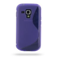 10% OFF + FREE SHIPPING, Buy Best PDair Top Quality Protective Samsung Galaxy S Duos Soft Case (Purple S Shape pattern) online. You also can go to the customizer to create your own stylish leather case if looking for additional colors, patterns and types.