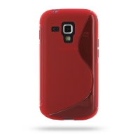 10% OFF + FREE SHIPPING, Buy Best PDair Top Quality Protective Samsung Galaxy S Duos Soft Case (Red S Shape pattern) online. You also can go to the customizer to create your own stylish leather case if looking for additional colors, patterns and types.
