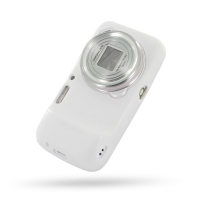 Soft Plastic Case for Samsung Galaxy S4 zoom SM-C1010 (White)
