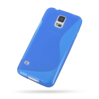 10% OFF + FREE SHIPPING, Buy Best PDair Top Quality Protective Samsung Galaxy S5 Soft Case (Blue S Shape pattern) online. You also can go to the customizer to create your own stylish leather case if looking for additional colors, patterns and types.