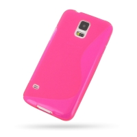 10% OFF + FREE SHIPPING, Buy Best PDair Top Quality Protective Samsung Galaxy S5 Soft Case (Pink S Shape pattern) online. You also can go to the customizer to create your own stylish leather case if looking for additional colors, patterns and types.