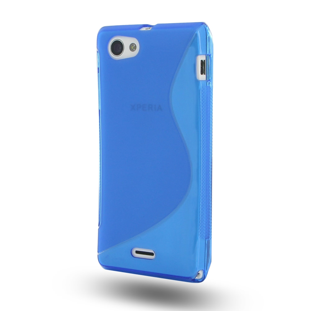 10% OFF + FREE SHIPPING, Buy Best PDair Quality Protective Sony Xperia J Soft Case (Blue S Shape pattern) online. You also can go to the customizer to create your own stylish leather case if looking for additional colors, patterns and types.
