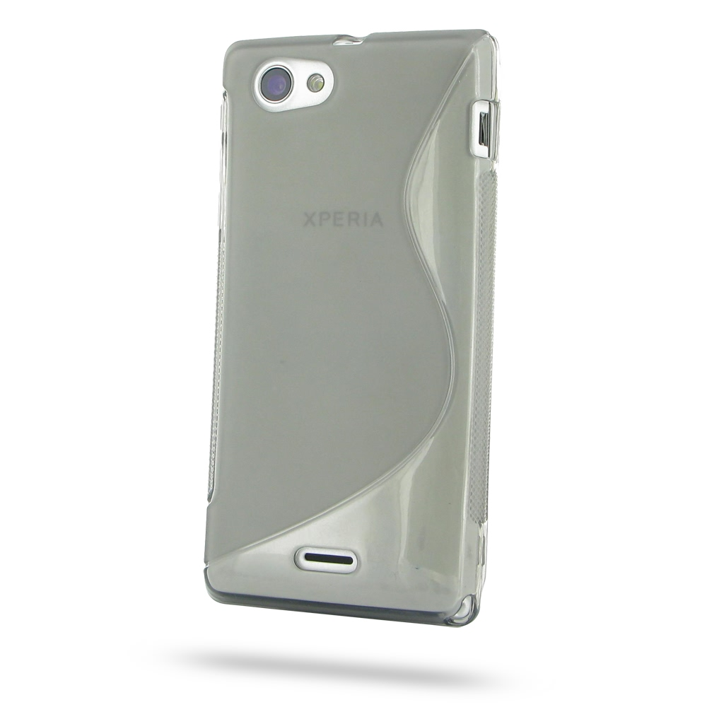 10% OFF + FREE SHIPPING, Buy Best PDair Quality Protective Sony Xperia J Soft Case (Grey S Shape pattern) online. You also can go to the customizer to create your own stylish leather case if looking for additional colors, patterns and types.