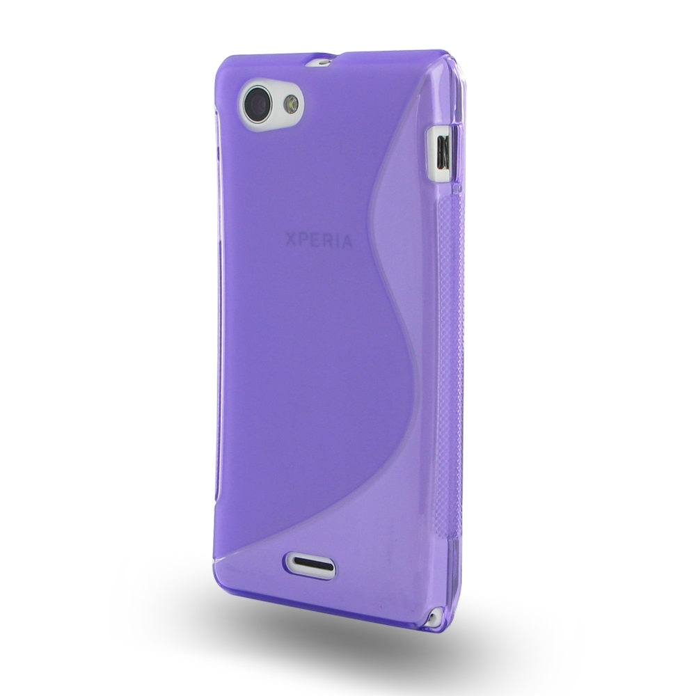 10% OFF + FREE SHIPPING, Buy Best PDair Quality Protective Sony Xperia J Soft Case (Purple S Shape pattern) online. You also can go to the customizer to create your own stylish leather case if looking for additional colors, patterns and types.