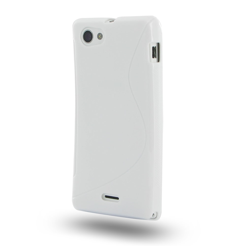 10% OFF + FREE SHIPPING, Buy Best PDair Quality Protective Sony Xperia J Soft Case (White S Shape pattern) online. You also can go to the customizer to create your own stylish leather case if looking for additional colors, patterns and types.