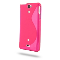10% OFF + FREE SHIPPING, Buy Best PDair Quality Protective Sony Xperia V Soft Case (Pink S Shape pattern) online. You also can go to the customizer to create your own stylish leather case if looking for additional colors, patterns and types.