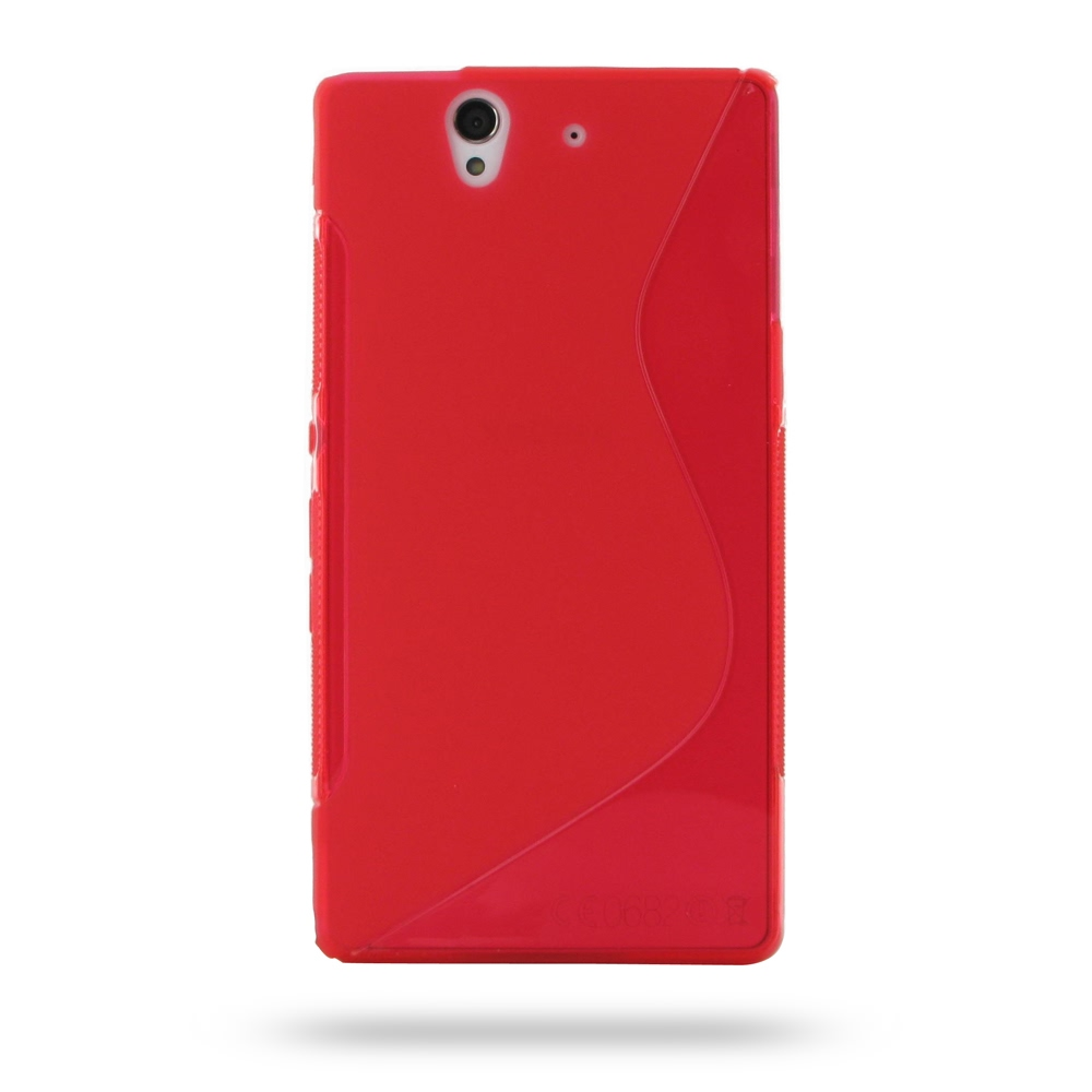 10% OFF + FREE SHIPPING, Buy Best PDair Quality Protective Sony Xperia Z Soft Case (Red S Shape pattern) online. You also can go to the customizer to create your own stylish leather case if looking for additional colors, patterns and types.