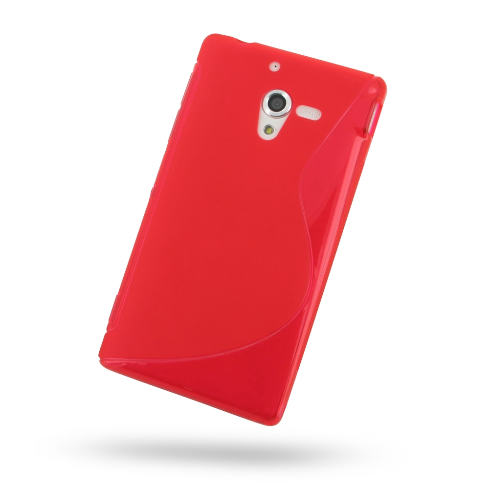10% OFF + FREE SHIPPING, Buy Best PDair Quality Protective Sony Xperia ZL Soft Case (Red S Shape pattern) online. You also can go to the customizer to create your own stylish leather case if looking for additional colors, patterns and types.