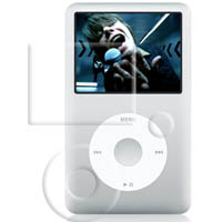 Ultra Clear Screen Protector for Apple iPod Classic (160GB)