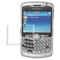 BlackBerry Curve 8300 Ultra Clear Screen Protector :: PDair