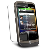 Ultra Clear Screen Protector for HTC Wildfire