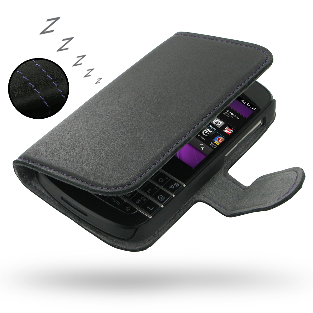10% OFF + FREE SHIPPING, Buy PDair Quality Handmade Protective BlackBerry Q10 Genuine Leather Flip Cover Case (Purple Stitch) online. You also can go to the customizer to create your own stylish leather case if looking for additional colors, patterns and