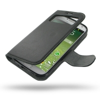 Ultra Thin Leather Book Case for Samsung Galaxy S4 SIV LTE GT-i9500 GT-i9505