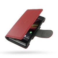 10% OFF + FREE SHIPPING, Buy Best PDair Top Quality Handmade Protective Sony Xperia L Leather Flip Cover Case (Red) online. Pouch Sleeve Holster Wallet You also can go to the customizer to create your own stylish leather case if looking for additional col