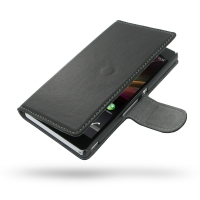 Ultra Thin Leather Book Case for Sony Xperia Z L36H