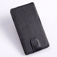 Sony Xperia C Flip Cover PDair Premium Hadmade Genuine Leather Protective Case Sleeve Wallet