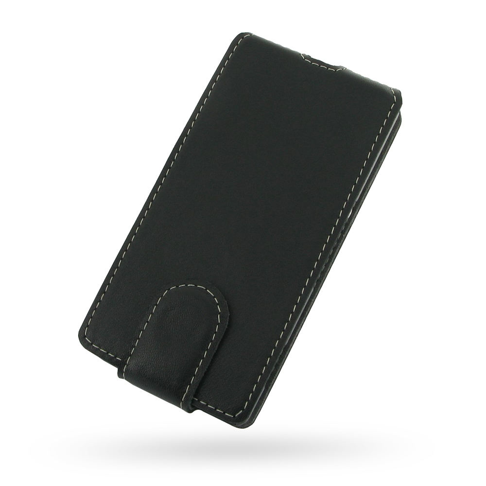 reputable site 4ef63 acf66 Ultra Thin Leather Flip Case for Sony Xperia M C1904 C1905