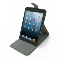 Ultra Thin Leather Flip Top Case for Apple iPad Mini
