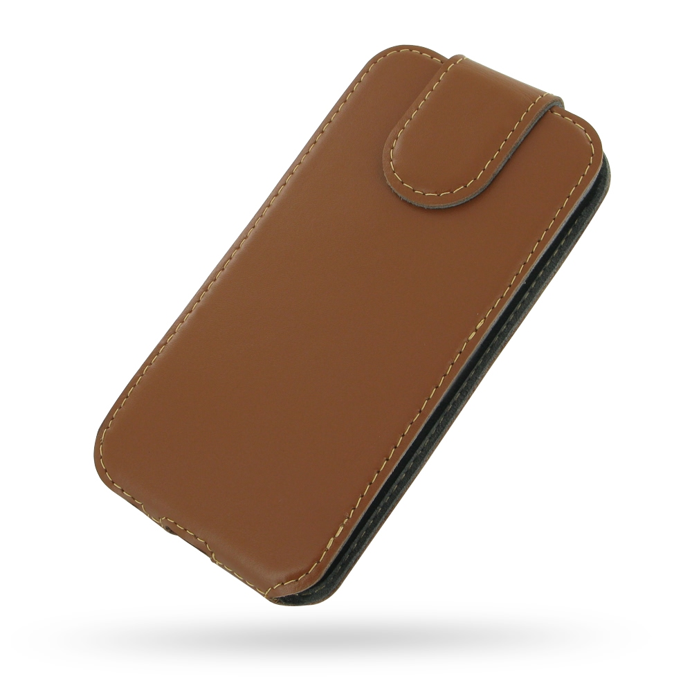 10% OFF + FREE SHIPPING, Buy Best PDair Quality Handmade Protective iPhone 5 | iPhone 5s Genuine Leather Flip Top Cover (Brown) online. Pouch Sleeve Wallet You also can go to the customizer to create your own stylish leather case if looking for additional