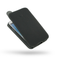 Ultra Thin Leather Flip Top Case for Samsung Galaxy Note 2 | Samsung Galaxy Note2 | GT-N7100