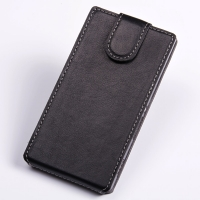 Ultra Thin Leather Flip Top Case for Sony Xperia C S39h