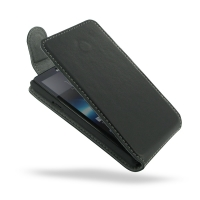 Sony Xperia T Leather Flip Top Cover PDair Premium Hadmade Genuine Leather Protective Case Sleeve Wallet