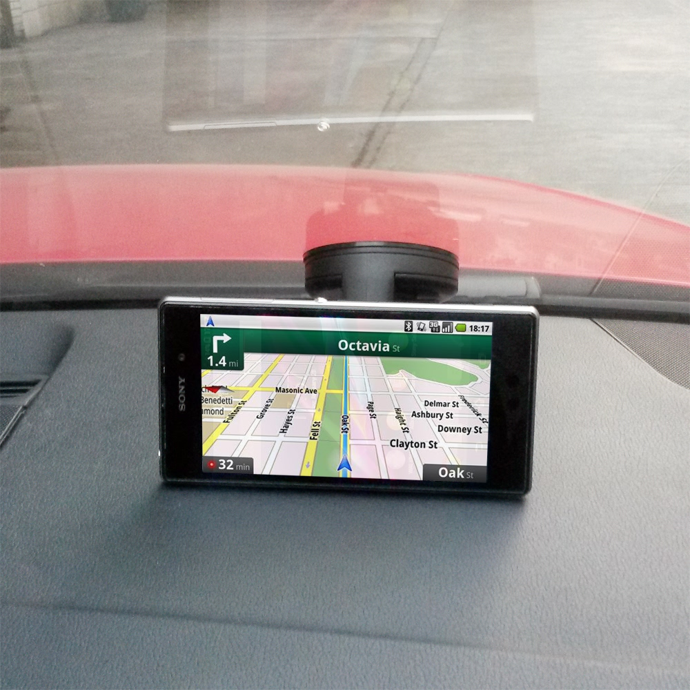 Smartphone and GPS Universal Car Mount :: PDair