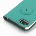 iPhone 5 5s Leather Flip Cover Case (Aqua) protective carrying case by PDair
