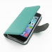 iPhone 5 5s Leather Flip Cover Case (Aqua) offers worldwide free shipping by PDair