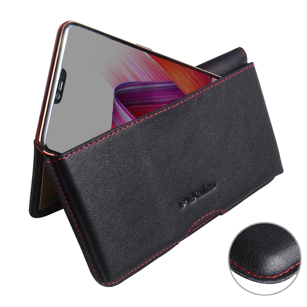 10% OFF + FREE SHIPPING, Buy the BEST PDair Handcrafted Premium Protective Carrying Oppo R15 Dream Mirror Edition Leather Wallet Pouch Case (Red Stitch). Exquisitely designed engineered for Oppo R15 Dream Mirror Edition.