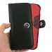 iPhone 11 Pro Max Holster (Black Stitch) in Large Armor Protective Case handmade leather case by PDair