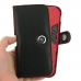 iPhone 11 Pro Max Holster (Red Stitch) in Large Armor Protective Case handmade leather case by PDair