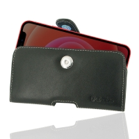 Leather Horizontal Pouch Case with Belt Clip for Apple iPhone 12 mini