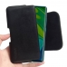 Xiaomi Mi Note 10 Leather Holster Pouch Case (Black Stitch) handmade leather case by PDair