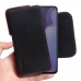 ViVO S5 Leather Holster Pouch Case (Red Stitch) handmade leather case by PDair