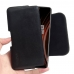 OnePlus 7T Pro 5G McLaren Leather Holster Pouch Case (Black Stitch) handmade leather case by PDair