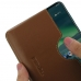 Nokia 2.3 Wallet Sleeve Credit Card Case Pouch (Brown) handmade leather case by PDair