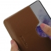 Samsung Galaxy S20 Leather Wallet Sleeve Case (Brown) handmade leather case by PDair