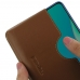 OPPO A9 (2020) Leather Wallet Sleeve Case (Brown) handmade leather case by PDair