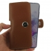 Samsung Galaxy S20 (in Slim Cover) Holster Case (Brown) handmade leather case by PDair