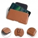 Nokia 2.3 Holster Pouch (Brown) Belt Case Sleeve protective carrying case by PDair