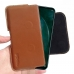 Huawei Nova 5z Leather Holster Pouch Case (Brown) handmade leather case by PDair