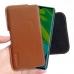 Xiaomi Mi Note 10 Leather Holster Pouch Case (Brown) handmade leather case by PDair