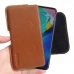 Motorola Moto G Power Leather Holster Pouch Case (Brown) handmade leather case by PDair